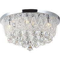 Eleganter LED Kronleuchter Decken Lüster Galerie Beleuchtung 20 W Pendel Lampe