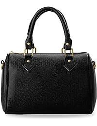 kleine elegante Damentasche Bowlingbag Schultertasche Handtasche Henkeltasche