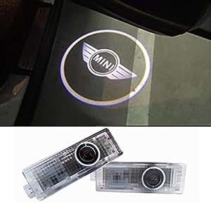 inlink 2 pieces courtesy lighting door shadow lamps logo projector auto. Black Bedroom Furniture Sets. Home Design Ideas
