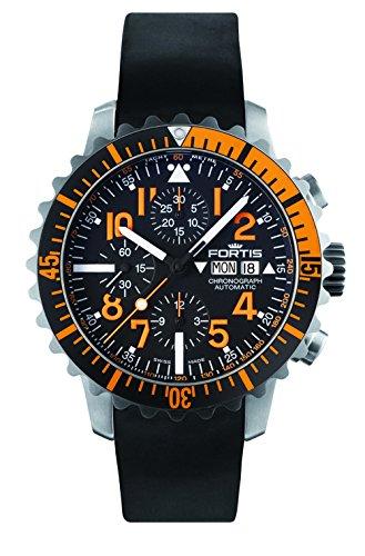 Fortis B-42–Navy Master Chronograph Orange 671.19.49K