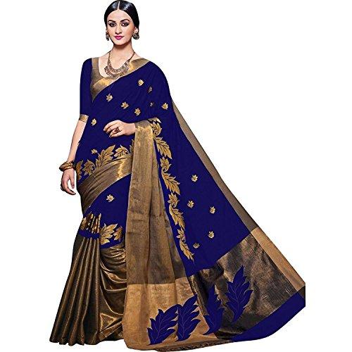 Indian Beauty Art Silk Saree With Blouse Piece