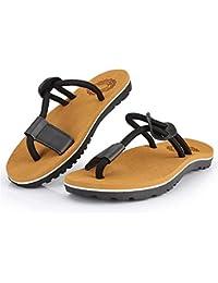 Zapatos de Chandal de Correa Casual para Hombre Zapatos de Playa de Cuerda Sandalias Planas Suaves