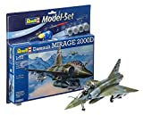 Revell - 64893 - Maquette Model Set - Dassault Aviation Mirage 2000 D - Echelle 1/72...