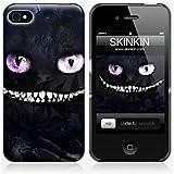 Coque iPhone 4 de chez Skinkin - Design original : Dark cheshire cat par Julien Kaltnecker