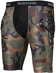 Burton MB Total IMP Short Equipo de Protección, Hombre, Naranja (Highland Camo), L