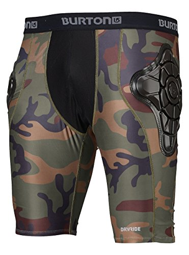 Burton Herren Protektor TOTAL Impact Shorts Highland Camo, L (Helme Von Snowboard Burton)