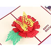 BC Worldwide Ltd handmade 3D pop up popup birthday card paper craft art handicraft birthday card him her kid child father mother friend family grandparents