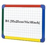SwanSea Kinder Kindertafel Magnettafel Whiteboard Kunststoffrahmen magnetisch 35x25 cm