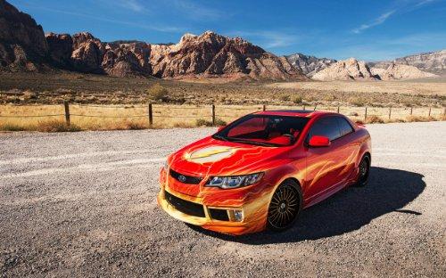 clsico-y-msculo-anuncios-de-coche-y-coche-arte-kia-el-flash-forte-koup-2012-coche-pster-en-10mil-pap