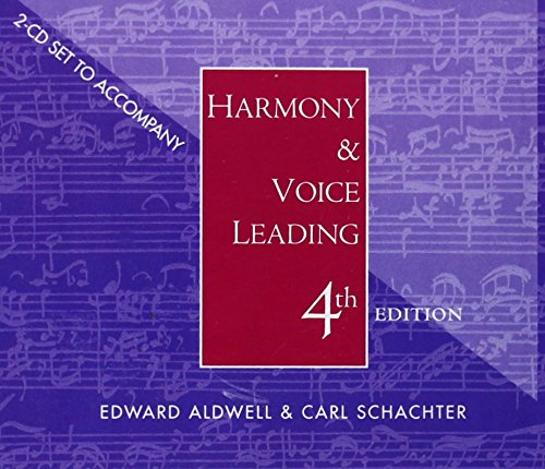 Audio CD-ROM for Aldwell/Cadwallader's Harmony and Voice Leading, 4th
