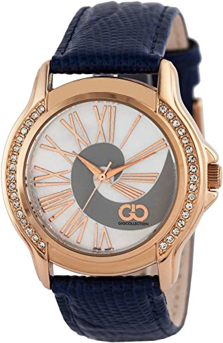 Gio Collection Analog White Dial Women's Watch