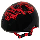 Best Sport 2059845 Red Skull Casque de roller skate