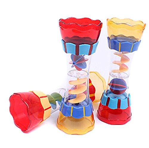 VWH Kinder Spielen im Wasser Baby Badespielzeug Schaufel Wasser schwimmen Strand Rotierenden Zylinder Fließen Beobachtung Cup (Spielen Küche Baby)