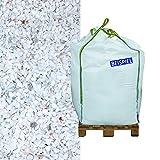 Hamann Marmorsplitt Carrara 5-8 mm Big Bag 600 kg - Mit kreativen Ideen kann jeder Garten durch Zierkies und Naturstein aufgewertet und edel gestaltet werden.
