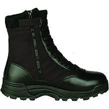 Original SWAT Uso Botas 1152Side Zip Negro negro Talla:47