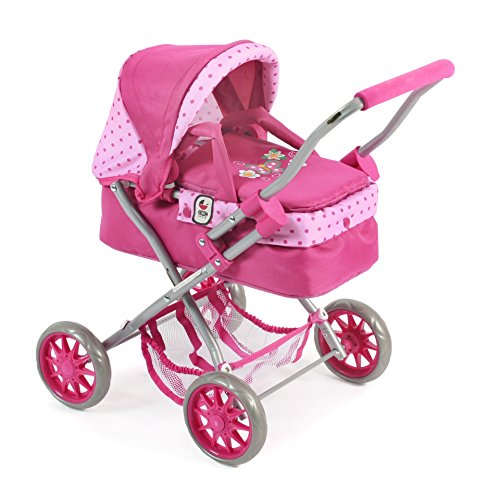 Bayer Chic 2000 555 31 – Muñeca carro Smarty, Dots Rosa