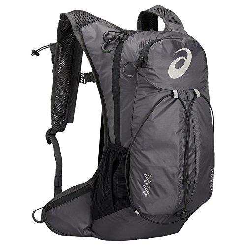 Asics zaino Lightweight Running Backpack, Unisex, Lightweight Running Backpack, grigio scuro, Taglia unica