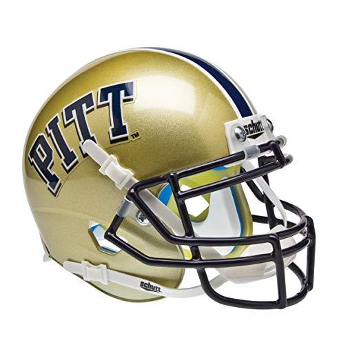 Schutt NCAA Pittsburgh Panthers Mini Authentic XP Fußballhelm, klassisch