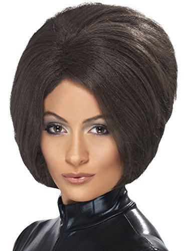 Perücke Posh 90er Jahre Ikone braune Kurzhaarperücke für Damen kurzer Bob Damenperücke sexy Kurzhaar Kurz Haar