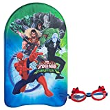 ColorBaby 53495 Eolo SPIDERMAN Gafas /& tabla nataci/ón 27x4x44 cm
