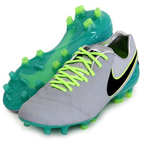 Nike Herren Tiempo Legend Vi Fg Fußballschuhe, Gris (Gris (Wolf Grey/Black-Clear Jade-Hyper...