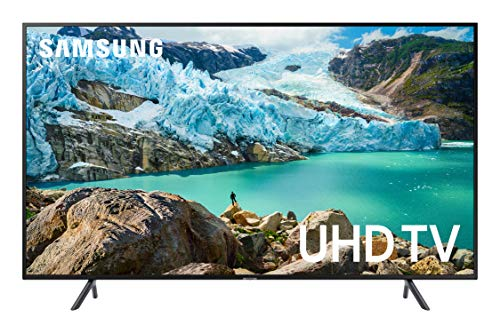 Samsung RU7179 138 cm (55 Zoll) LED Fernseher (Ultra HD, HDR, Triple Tuner, Smart TV) [Modelljahr 2019] Mobile Flat-panel-tv