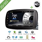L-Way Android 7.1 Auto Navigation Stereo, 2G/32G 9 Zoll Autoradio Video Multimedia Player Navigator mit Bluetooth Wifi GPS Navigationssystem für Smart