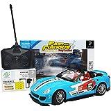 Remote Control Sportz Toy Car (top-open Sky Blue California)