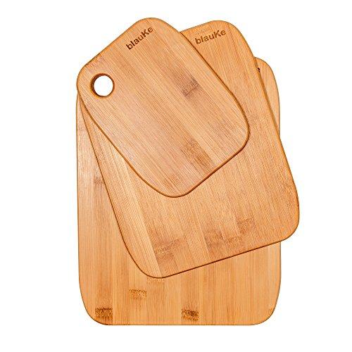 Taglieri Per Cucina In Legno Di Bamboo - Set di 3 Taglieri Da Cucina ...