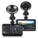 """Telecamera per Auto,EIVOTOR Dash Cam per Auto 1080P Full HD con Infrarossi Visione Notturna Camera Car con 3.0"""" LCD,170 Gradi,Registrazione in Loop,Rilevazione di Movimento"""