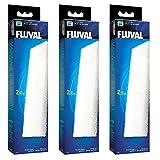 3x FLUVAL U4 Schaumstoff-Filtereinsatz (3x A488) für Fluval Innenfilter