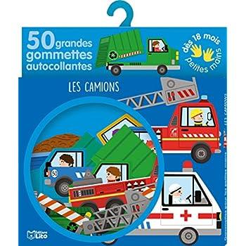 Gommettes pour les petites mains : Les camions- Dès 18 mois