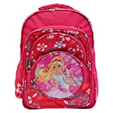 #7: OKJI Frozen 18 Inches School Bag For girls- School Bag Pack Age Group (5-11 Years) Pink Color Adjustable Strap Kids School bag
