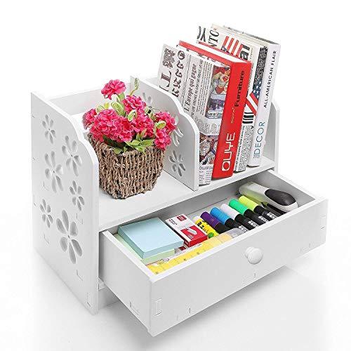 Home Neat DIY Madera Libro Estantería Rack Oficina