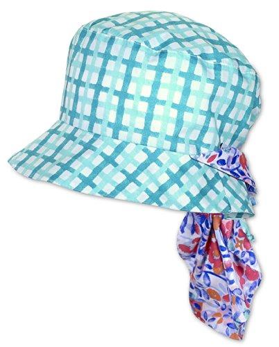 Sterntaler chapeau d'été pour fille avec protège-nuque turquoise (444)