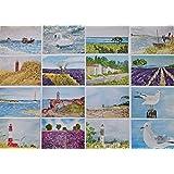 Kunstkarte Kunstdruck maritim Meer