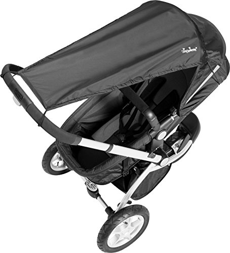 Playshoes Universal Sunshade for Strollers (Black)