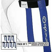 OPTIMUM Optimales Training Tackle Gürtel und 2Flaggen (7Stück)