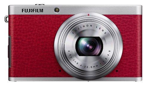 Fujifilm X-F1 Point & Shoot Camera (Red)