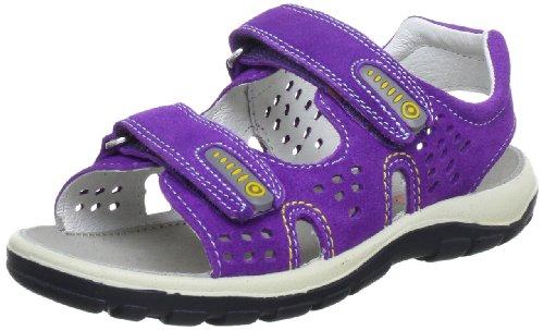 Naturino 5640 D 0501514029114, Sandali bambino Viola (Violett (Viola 9114.90))