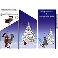 Foglio di Natale e Capodanno Cascade by Sharon Davies