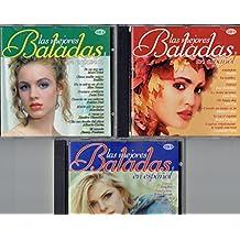 Las Mejores Baladas En Español (3 Cds)