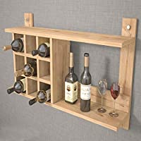 Bravo Shelves and Racks, Melamine, Beige SHNS.S.18.01_Oak