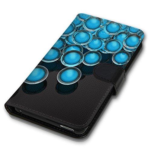 Wallet Book Style Flip Handy Tasche Case Schutz Hülle Schale Motiv Etui für Apple iPhone 4 / 4S - Variante UMV1 Design12 Design 11