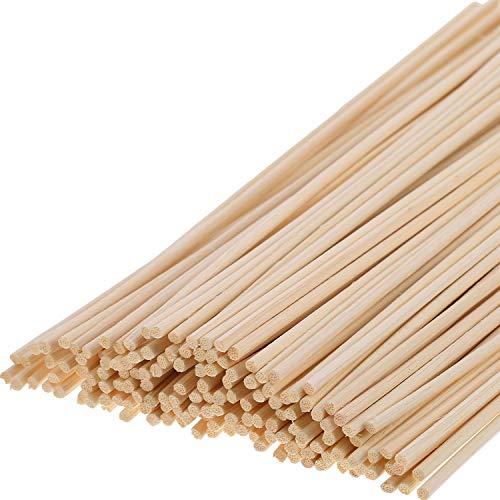 200 Stücke Rattan Diffusor Stick Holz Lautsprecher Diffusoren Refills Ätherisches Öl Diffusor Ersatz, 24 cm/ 9,45 Zoll (E-stab-refill)