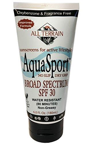 All Terrain Aqua-Sport SPF-30 Oxybenzone-Free natürlichen Sonnenschutz Lotion, 6-Unze (Lotion Outdoor-tanning)