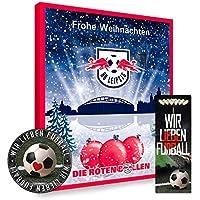 Adventskalender, Weihnachtskalender deines Bundesliga Lieblingsvereins 2018 - Plus gratis Sticker & Lesezeichen Wir Lieben Fußball