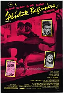 Absolute Beginners Affiche du film Poster Movie Premiers à agir absolus (27 x 40 In - 69cm x 102cm) Style A