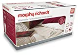 Morphy Richards Washable Heated Underblanket 4 Heat 600012 Double White