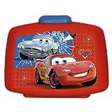 P:OS Brotdose Premium Cars mit Einsatz rot Kunststoff spülmaschinenfest Cars